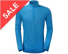 Primino 140g Zip Neck Men's Baselayer Top