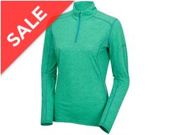 Primino 140g Zip Neck Women's Baselayer Top