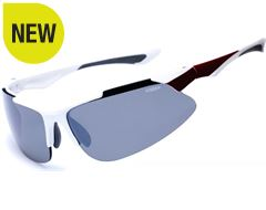 Indus Sunglasses (White/PC Smoke)