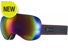Eaglerock Ski Goggles (Clear Black/Double Red Revo)