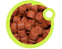 Bloodworm Drilled Pellets, 8mm (375g)
