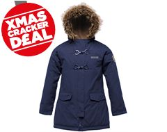 Greta  Girl's Waterproof Jacket