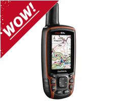 GPSMAP 64S + GB Discoverer Bundle