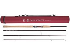 Diplomat Spinning Rod (10ft, 4-piece 15-35g)