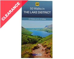 '50 Walks in The Lake District' Guide Book