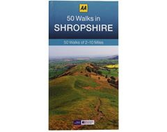 '50 Walks in Shropshire' Guide Book