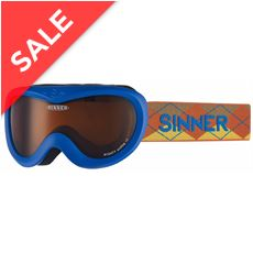 Mighty Ski Goggles (Clear Matte Blue/Double Orange)
