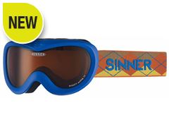Mighty Ski Goggles (Matt Blue/Double Orange)
