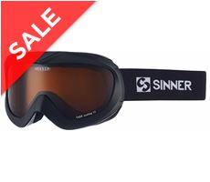 Task Ski Goggles (Matte Black/Double Orange)