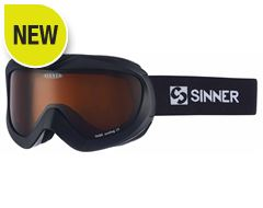 Task Ski Goggles (Matt Black/Double Orange)