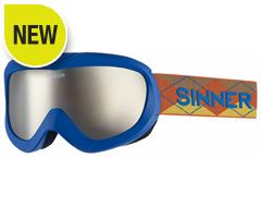Task Ski Goggles (Matt Blue/Double Orange Mirror)