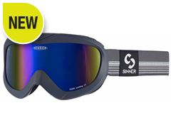 Task Ski Goggles (Matt Dark Grey/Double Blue Revo)