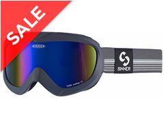 Task Ski Goggles (Matte Dark Grey/Double Blue Revo)