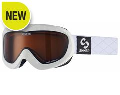 Task Ski Goggles (Matt White/Double Orange)