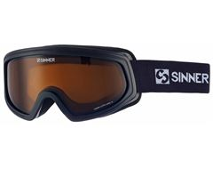 Visor II OTG Ski Goggles (Matt Black/Double Orange)