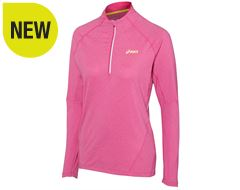 Women's Jersey LS Half-Zip Top