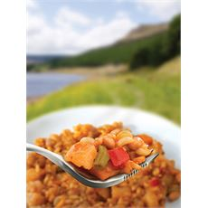 Vegetable Curry & Rice Ready-to-Eat Camping Food