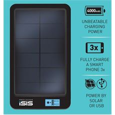 iSIS Portable Solar Charger