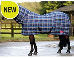 Quiltmasta 350 Check Fixed Neck Stable Rug