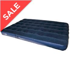 Deluxe Double Flock Airbed