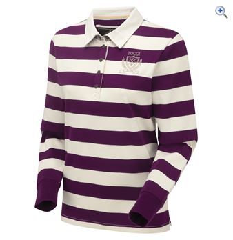 Toggi Rowley Long Sleeve Top - Size: 10 - Colour: Damson