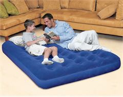Flocked Double Airbed