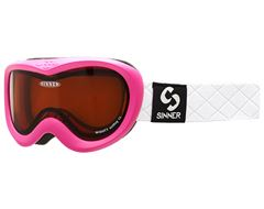 Mighty Ski Goggles (Clear Matte Pink/Double Orange)