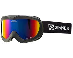 Task Ski Goggles (Matt Black/Double Red Revo)