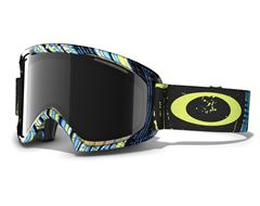 O2 XL Goggle (Lime-Blue/Dark Grey)