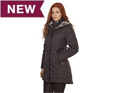 Silverton Long Padded Ladies Jacket