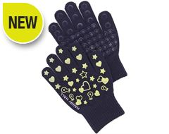 Heart Glow Children's Gloves