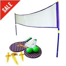 Super Sport Tennis/Badminton Set