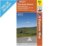Explorer Map OL1 The Peak District (Dark Peak)