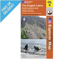 Explorer Map OL6 The Lake District (South-Western Area)