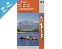 Explorer Map 392 Ben Nevis & Fort William