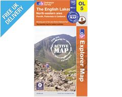 Explorer Active Map OL5 The Lake District (North-Eastern Area)