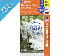 Explorer Active Map OL24 The Peak District (White Peak)