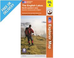 Explorer Map OL4 The Lake District (North Western Area)