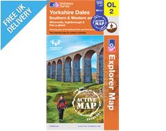 Explorer Active Map OL2 Yorkshire Dales (Southern & Western Area)