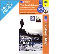 Explorer Active Map OL7 The Lake District (South Eastern Area)