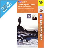 Explorer Map OL7 The Lake District (South Eastern Area)