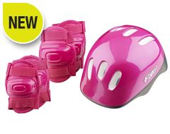 Kids' Helmet and Pads Set