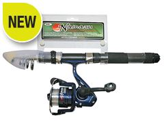 Namazu Mini Travel Telescopic Rod & Reel Combo