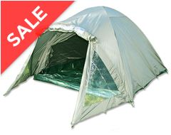 2 Man Double Skinned Green Bivvy