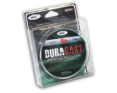 8lb Brown 'Duracast' Fishing Line (300m Spool)