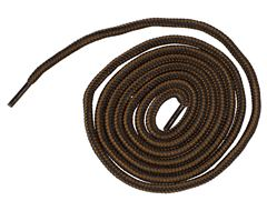 "Walking Laces, Brown/Black (54"")"