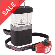 CHT 4 Headtorch / 4AA Packaway Lantern Combo