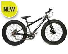 Fatman Fat Bike (Black)