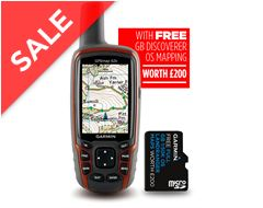 GPSMAP® 62s + GB 1:50K SD Map Card
