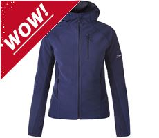 Ben Oss Women's Windproof Hooded Jacket